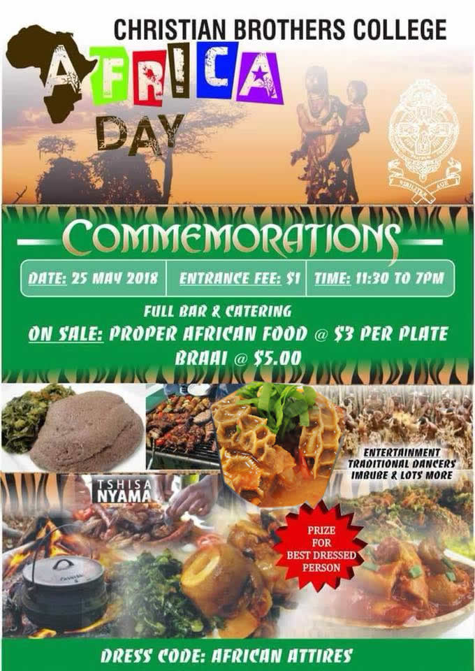cbc college africa day commemmorations
