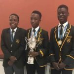CBC Debate Club clinches the debate trophy in Botswana