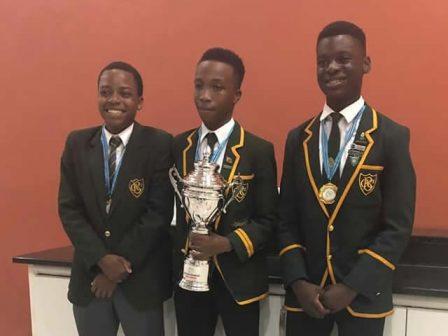 CBC Debate Club clinches the debate trophy in Botswana