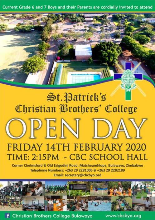 cbc bulawayo open day 2020